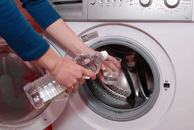 уксус в стиральную машину
