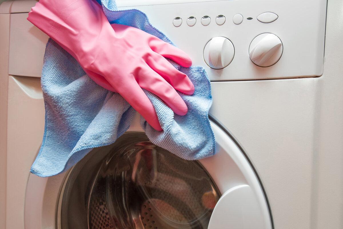 Мыть корпус стиральной машины