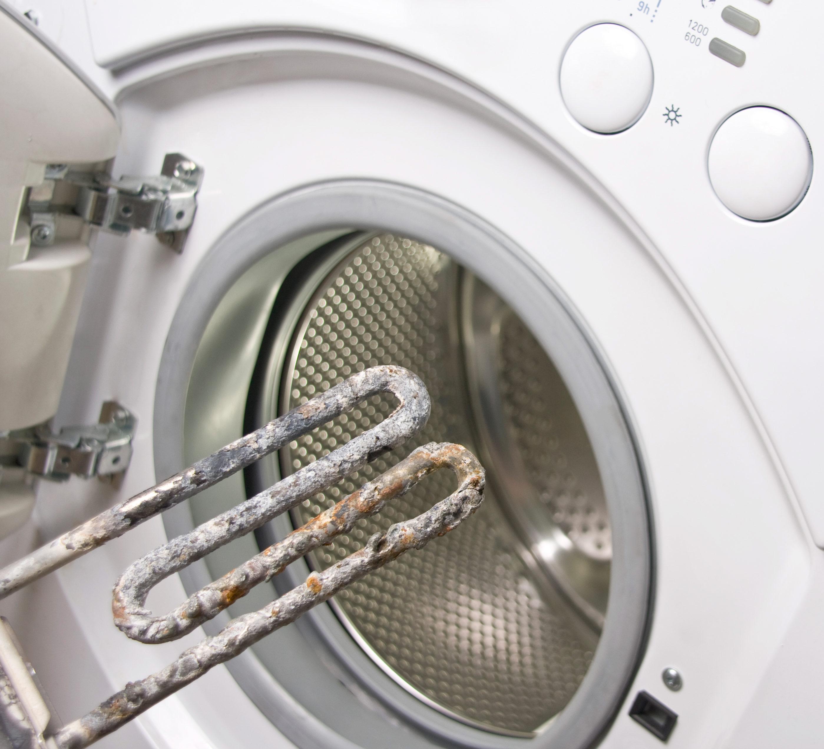 Чистить ТЭН стиральной машины