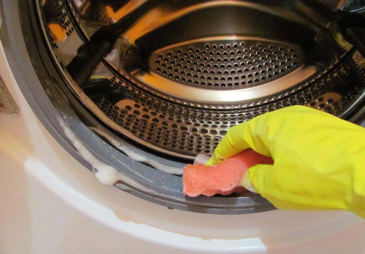 Мыть стиральную машину