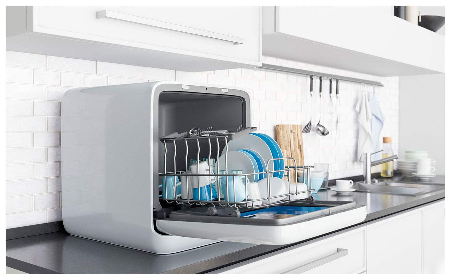 Мидея Midea мини посудомойка