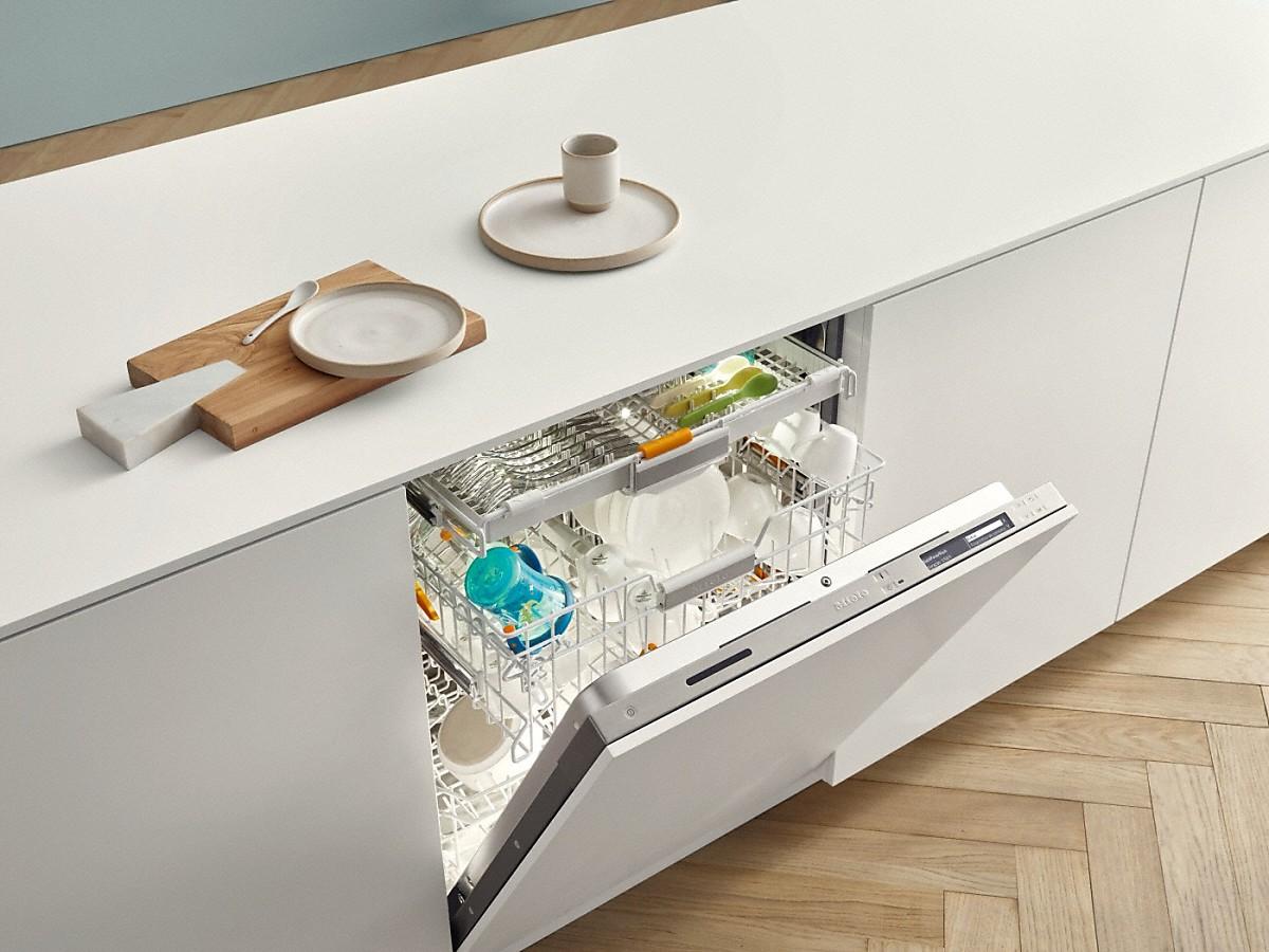Полновстраиваемая посудомойка Miele