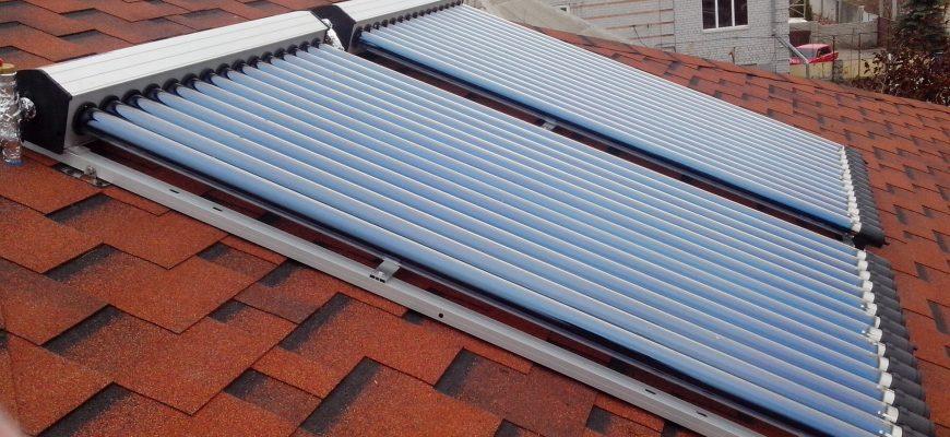классификация и выбор солнечных коллекторов