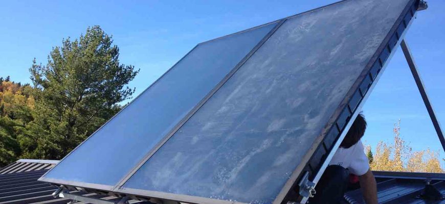 солнечные коллекторы solar fox
