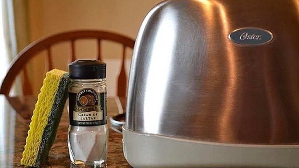 как мыть тостер