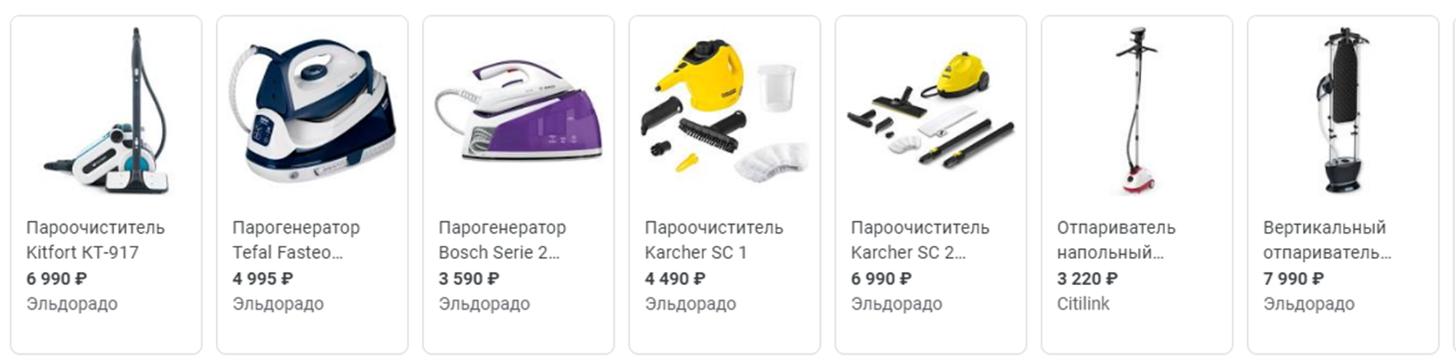 Цены на парогенераторы