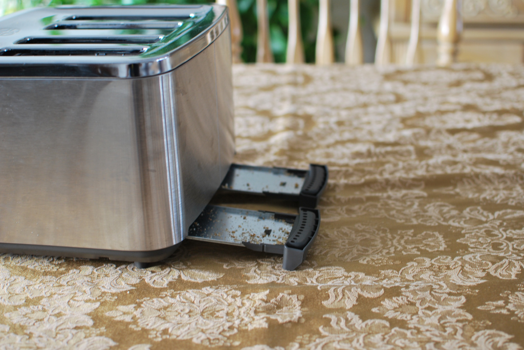 чистка тостера внутри