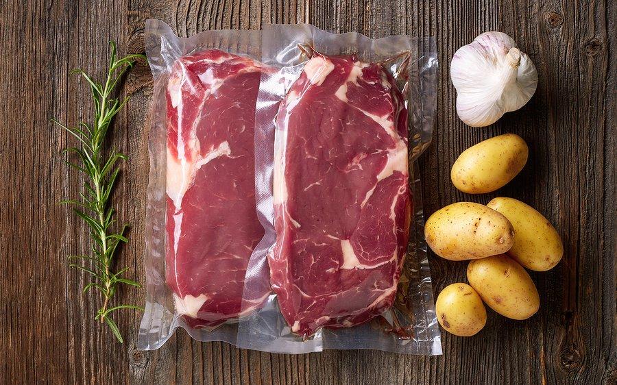 мясо в вакууме