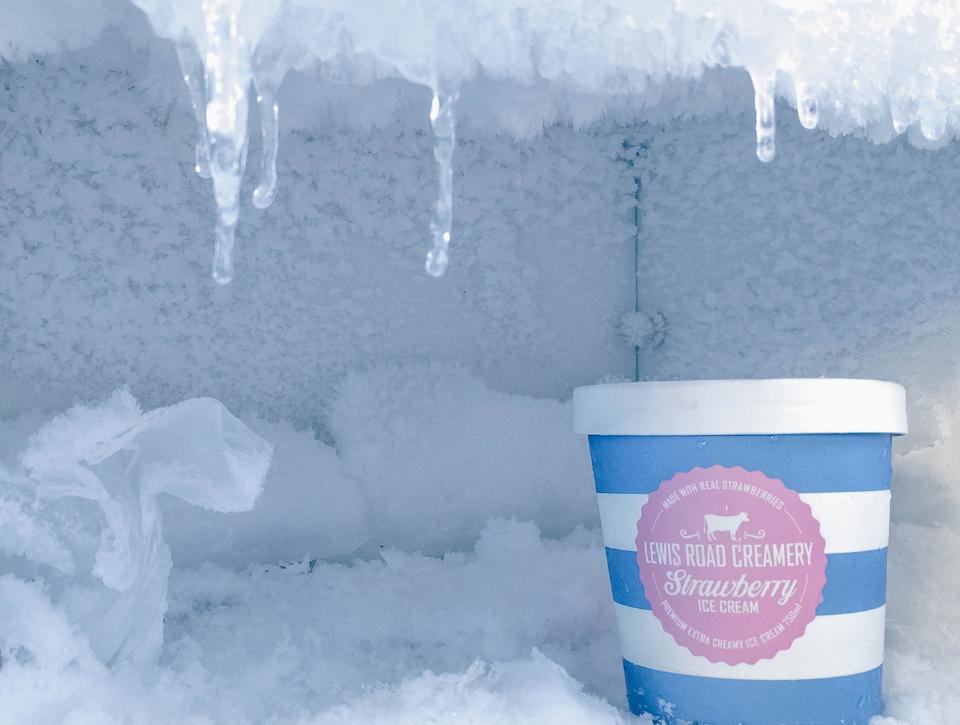 Наледь в морозилке