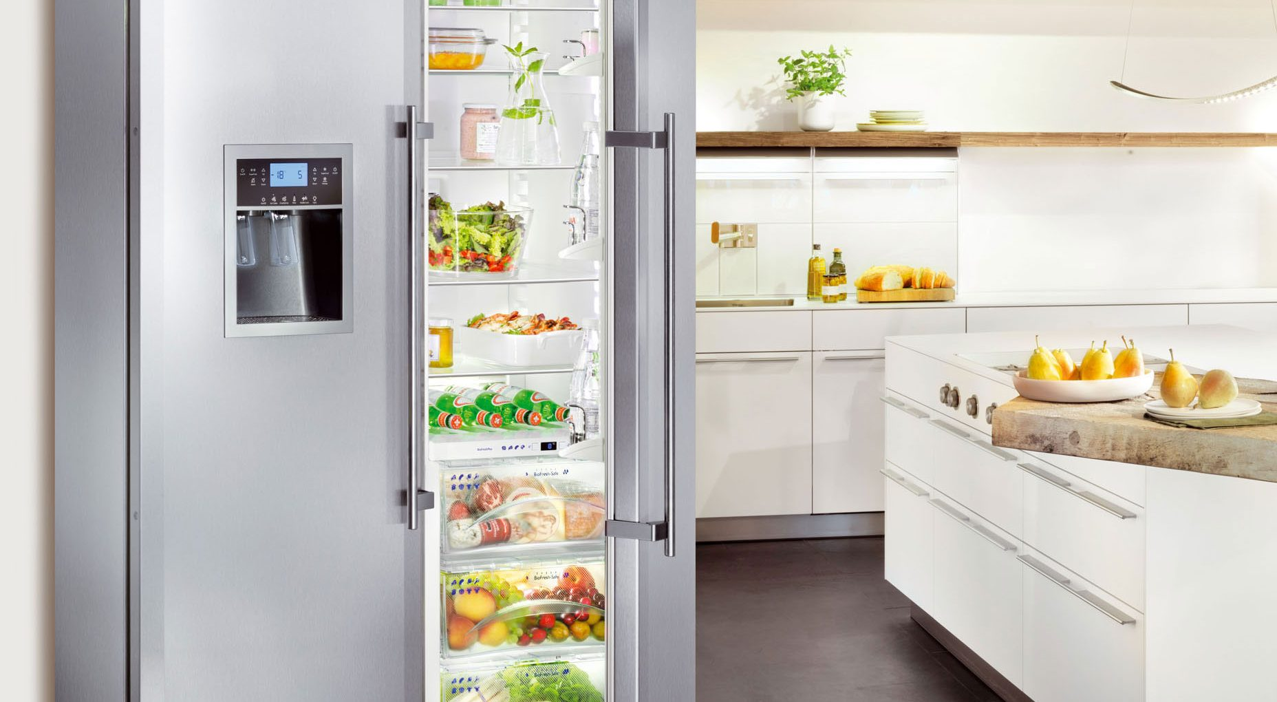 холодильник металл