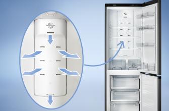 включение холодильника