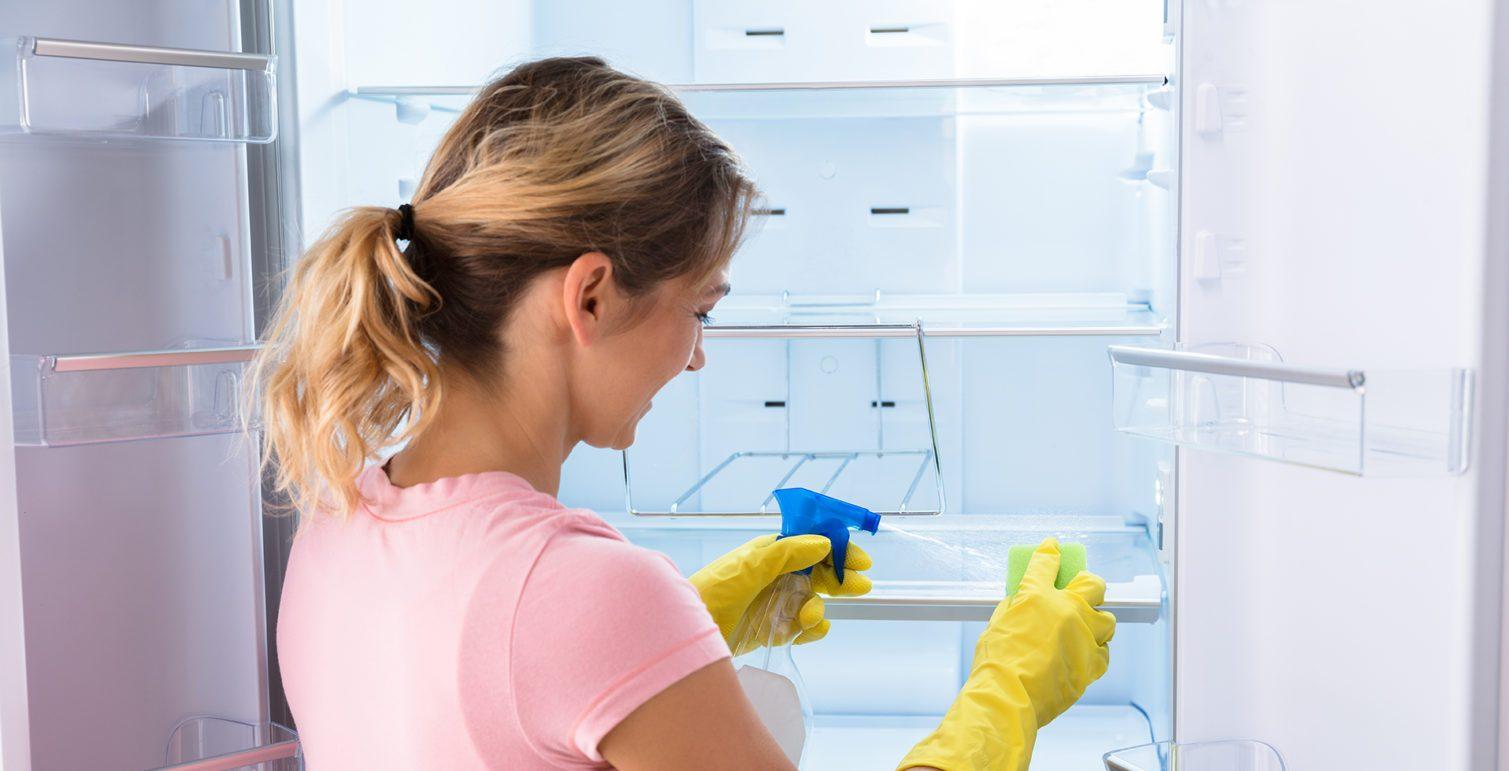 Очистка холодильника с капельной системой
