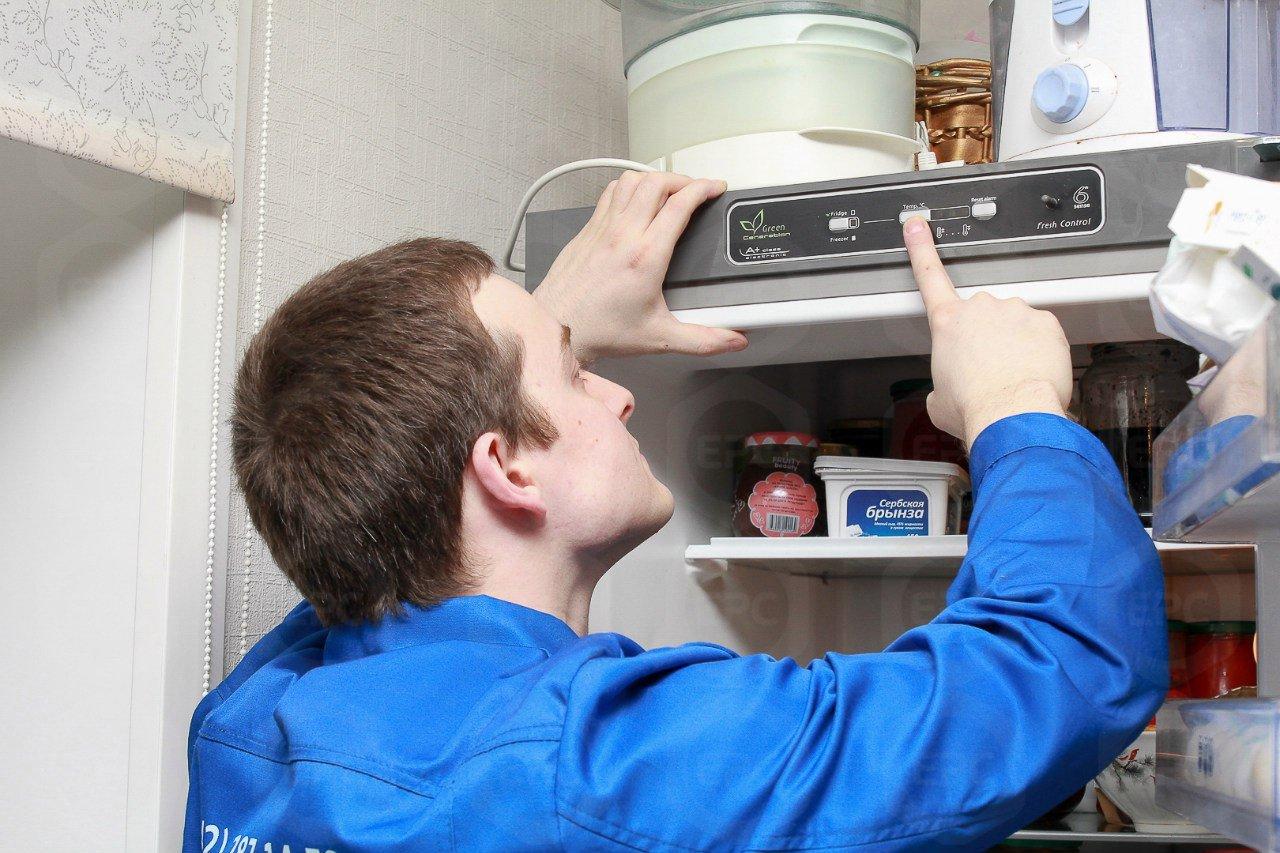 Принудительное отключение холодильника