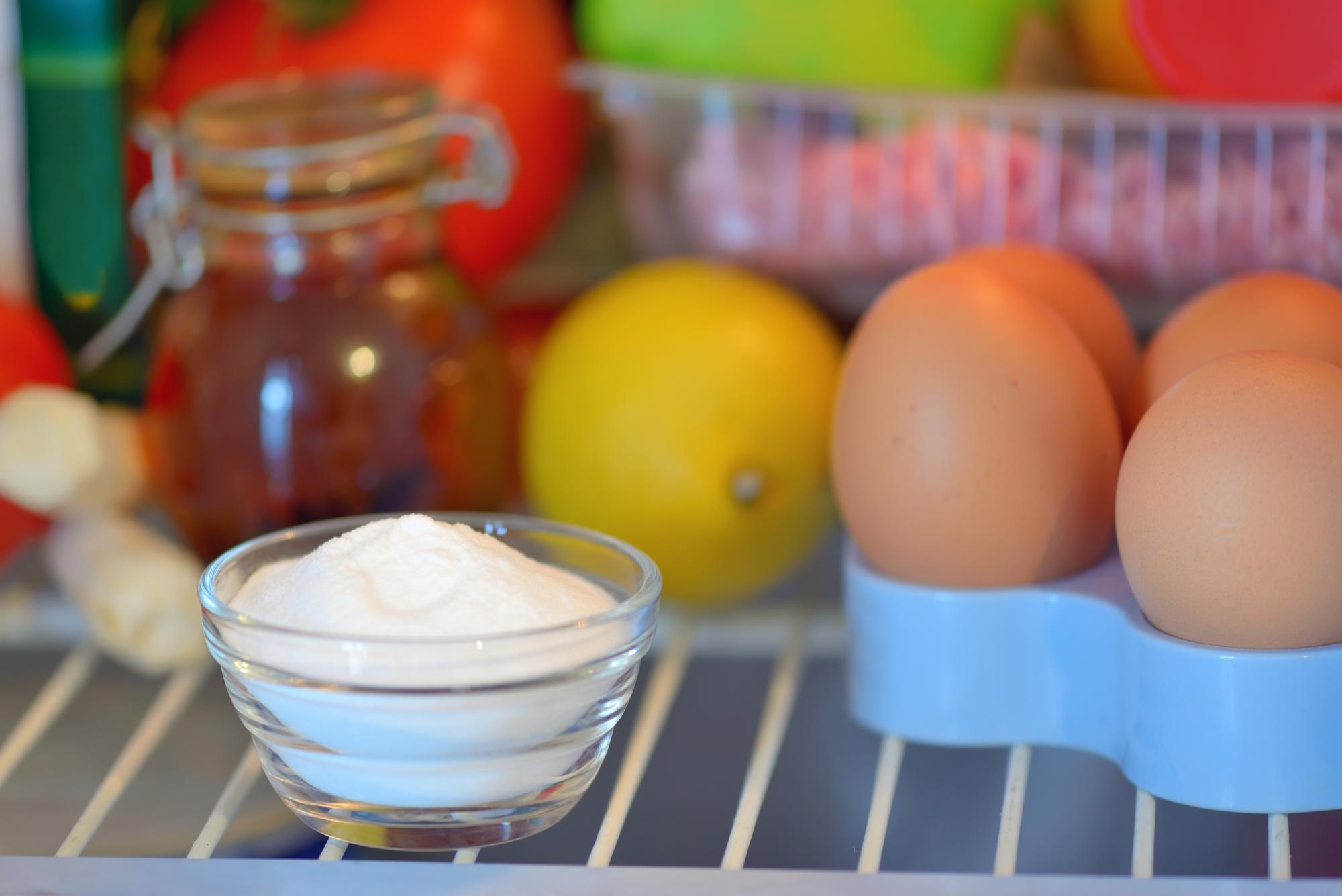сода в холодильнике