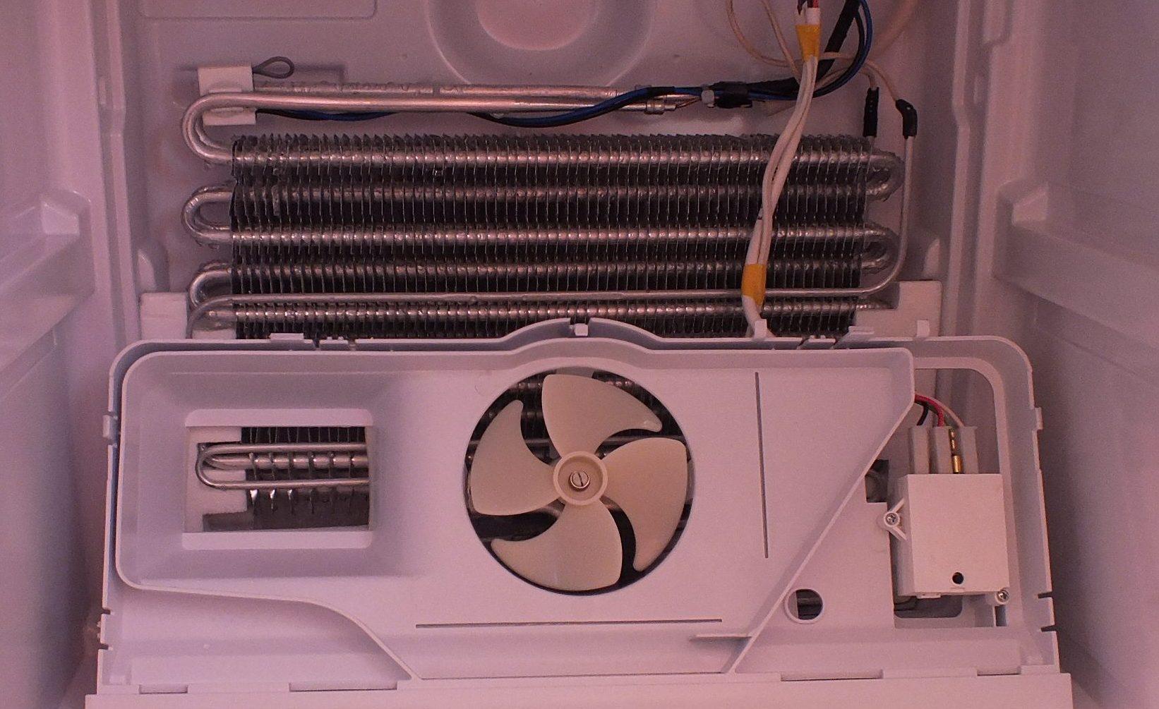 Замена вентелятора