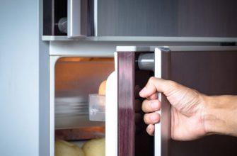 скрипит дверца холодильника