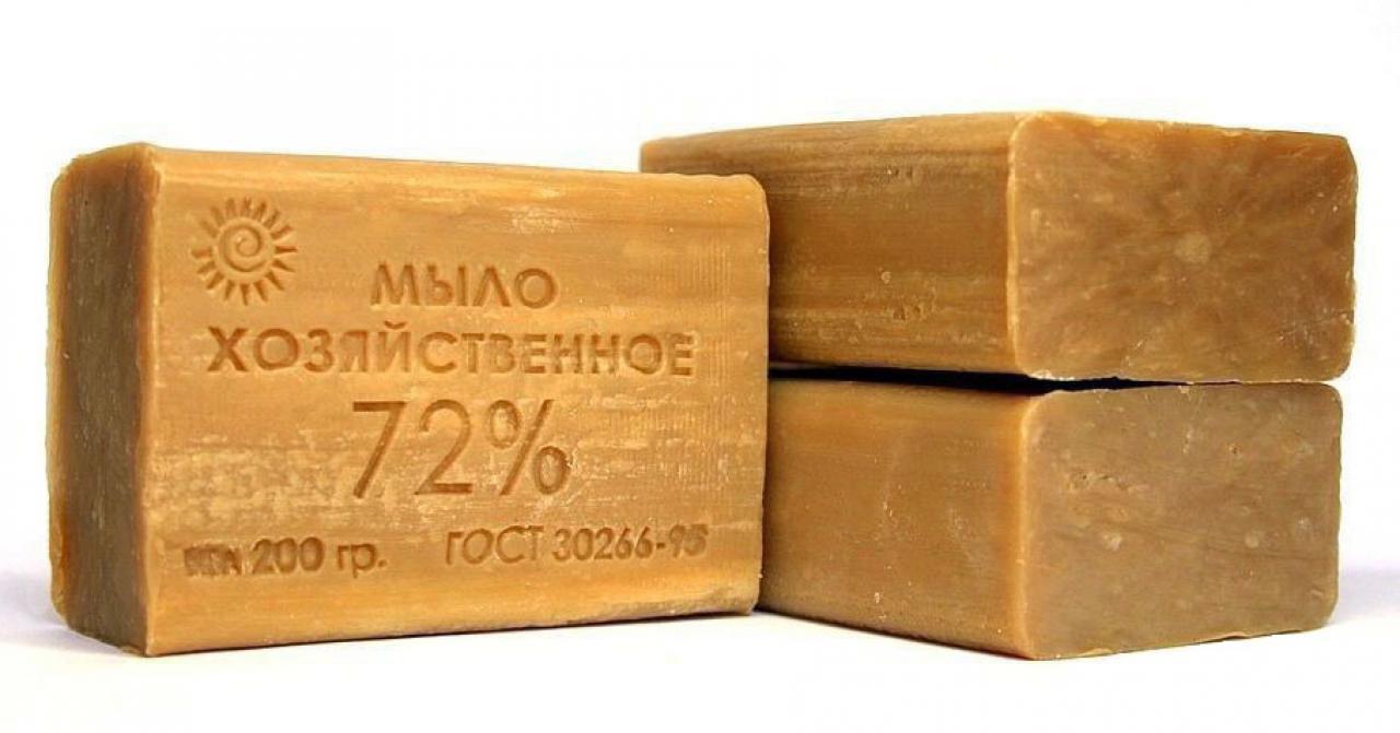хозяйственное мыло для чистки утюга