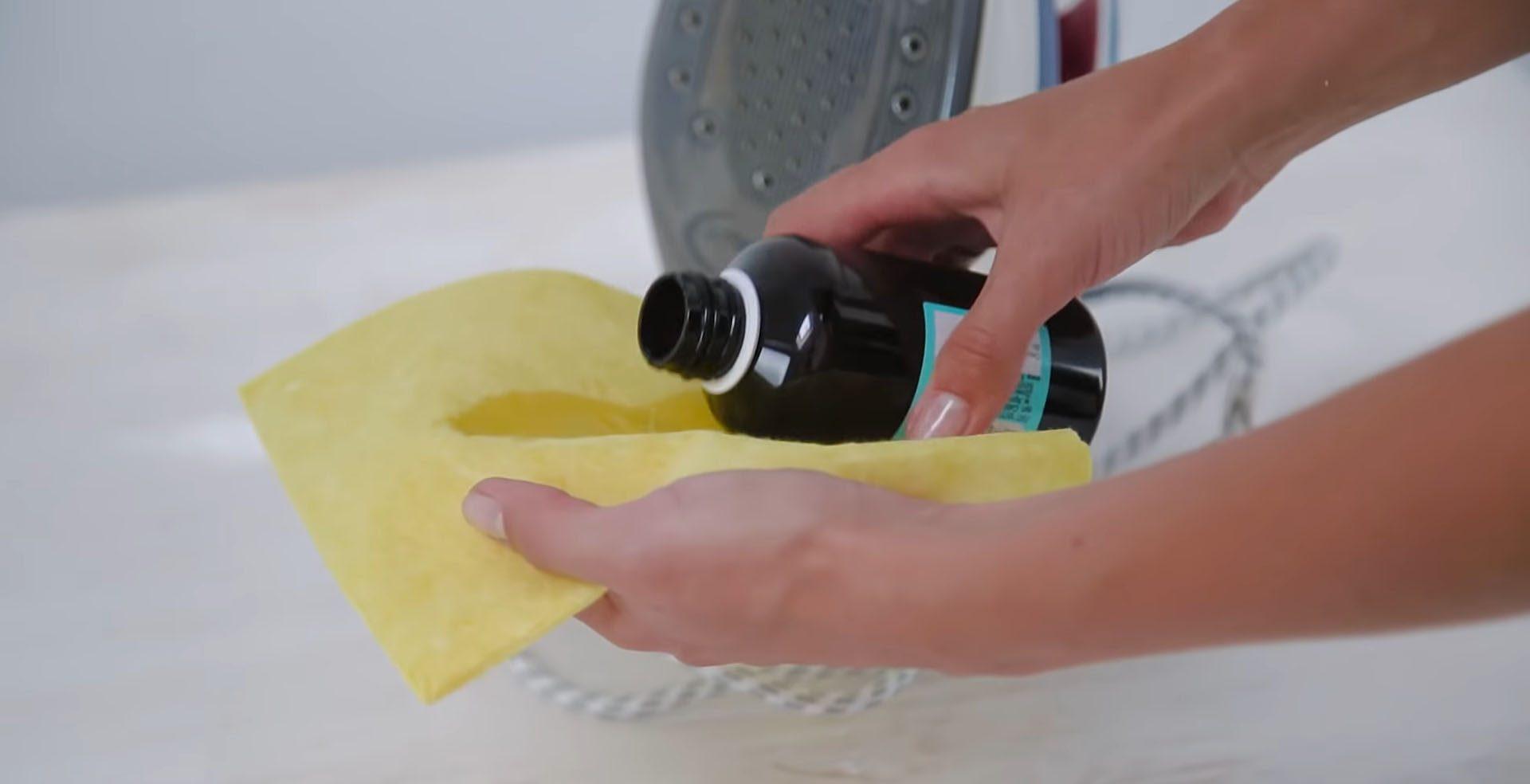 перекись водорода для чистки утюга